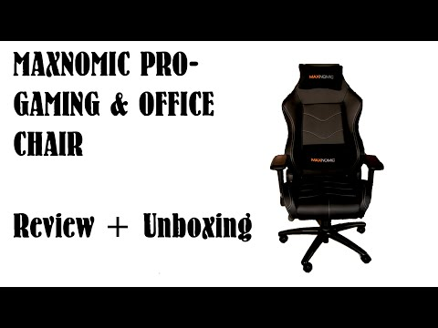 Gaming Chair Review Maxnomic Pro Chief Tbe Doovi
