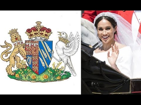 The Coat of Arms designed for the new Duchess of Sussex has been unveiled