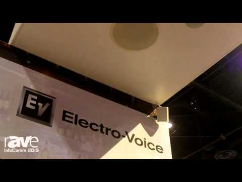 InfoComm 2015: Electro-Voice Features Evid Compact Loudspeaker Series