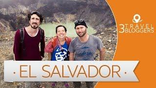 Viaje a El Salvador - 3 Travel Bloggers (JL Pastor, Arianna Arteaga y Juan Villarino)
