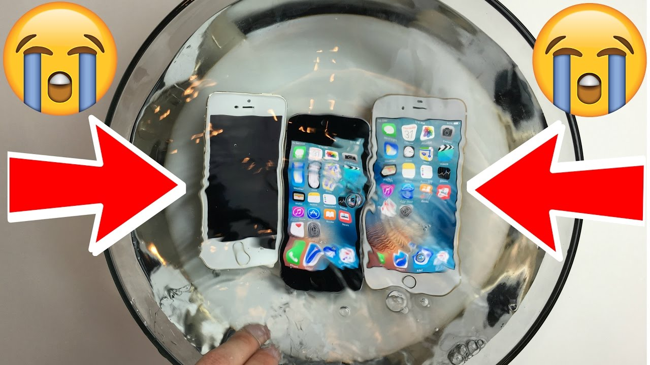 Is the iPhone SE WATERPROOF?! A iPhone SE vs 5S vs 6S ...