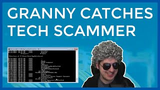 Grandma Catches Tech Scammer Lying & He Can't Recover
