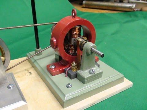 Pt 6 tubalcain BUILDS A MODEL DYNAMO for a Steam Engine - YouTube