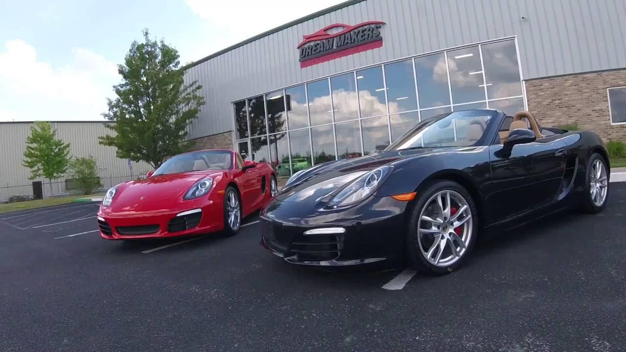 Porsche Boxster S Manual or PDK? - YouTube