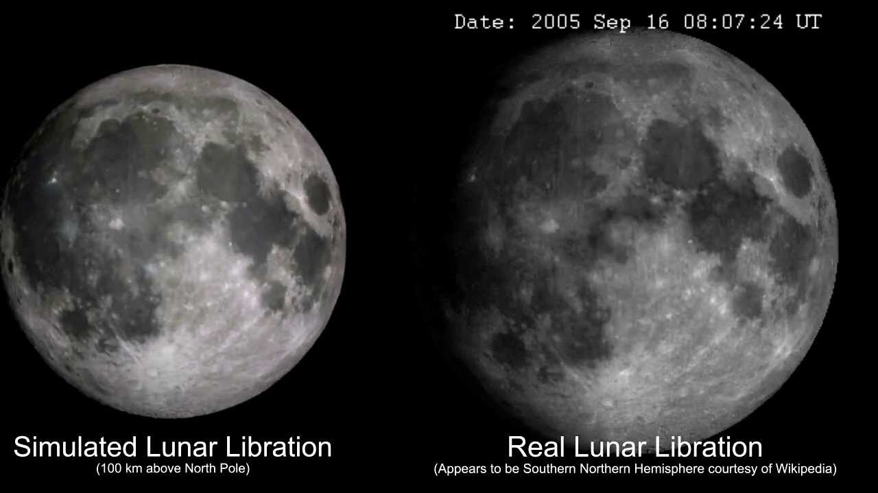Simulation of the Moon Orbit - YouTube