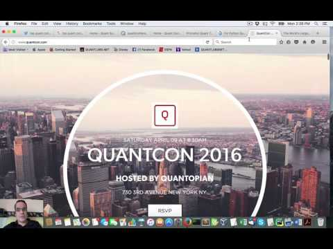 Reasons why I don't go to a quant trading conference