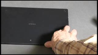 NFC Transfer from Sony RX100 II Camera to Sony Xperia Tablet Z Thumbnail