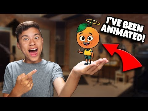 EVAN IS A CARTOON MANDARIN! How To Make an ANIMATED SHOW!