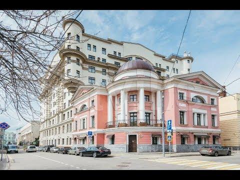 Смотреть Обзор элитной квартиры в центре Москвы. Погорельский переулок 6,  клубный дом-