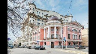 Обзор элитной квартиры в центре Москвы. Погорельский переулок 6,  клубный дом-