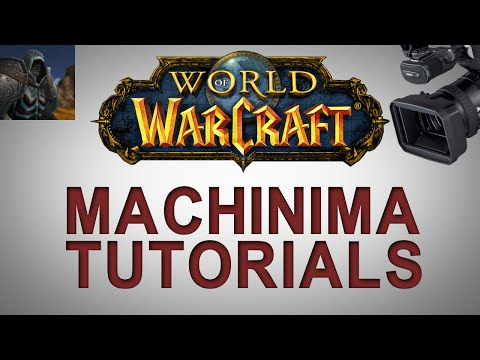 WoW Machinima Tutorial - Death Knight Voices and Masking
