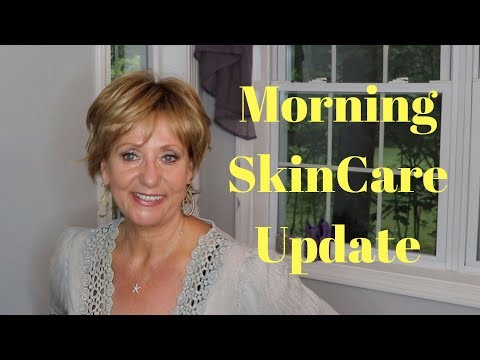 64 year old skin | Morning Skin Care Update| Mature Beauty | Sixty Plus