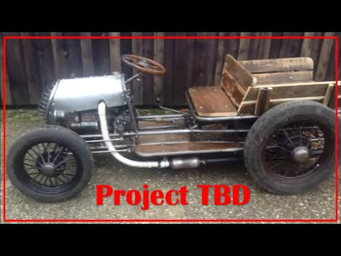 Project TBD :: Homemade Tractor :: Start-Up and Drive
