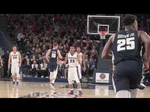 11 18 17 MBB vs Utah State Highlights