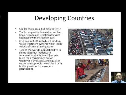 Urbanization and Sustainable Cities