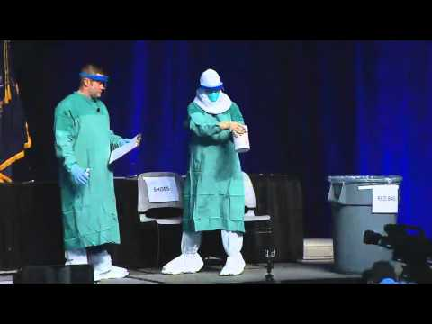 Ebola Education Session - Personal Protective Equipment (PPE) Demonstration