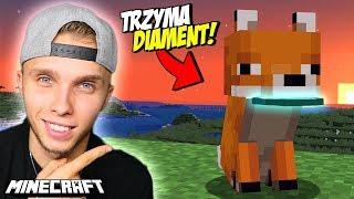 Spotkałem NAJRZADSZEGO LISKA w Minecraft!