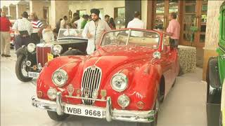 Vintage car exhibition organised in southern India's Chennai city