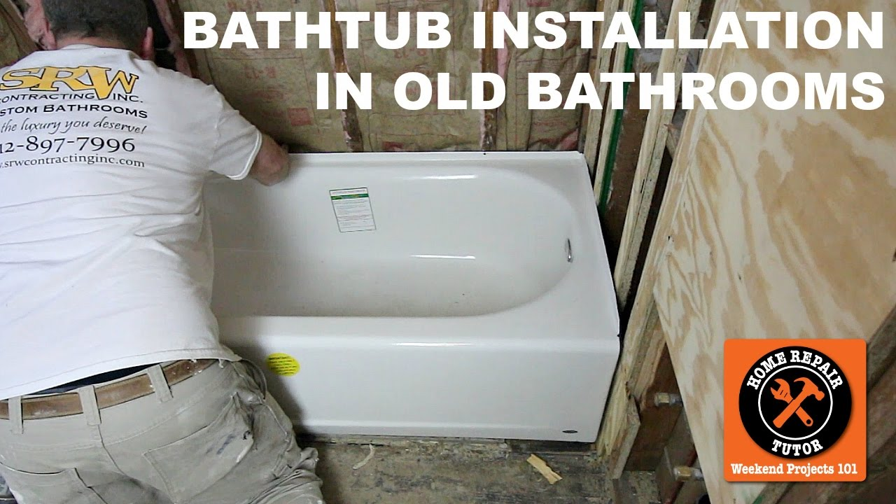 How To Install A Bathtub...American Standardu0027s Americast (Step By Step)