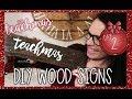 DIY Wood Sign Girls Night /  TEACHMAS Day 2