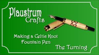 Celtic Knot Pen Turning