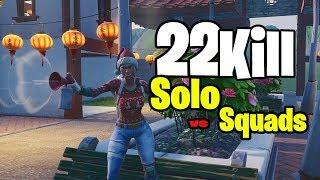 22 Kill Solo vs Squads - Fortnite Season 7