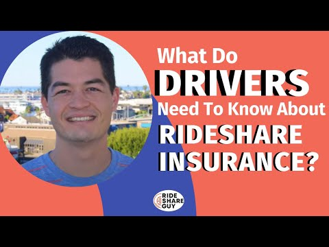 What Do Drivers Need To Know About Rideshare Insurance?