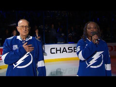 WSH@TBL, Gm5: Bryson performs national anthem