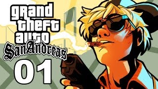 Grand Theft Auto San Andreas Gameplay / SSoHThrough Part 1 - Don