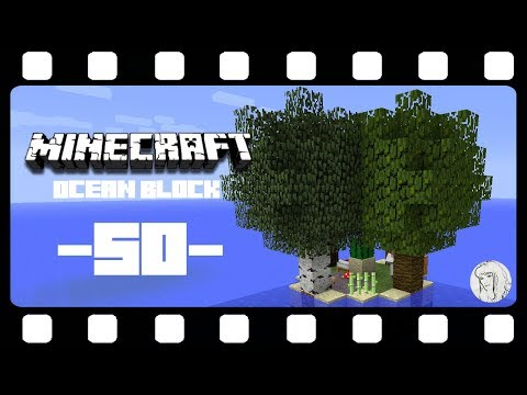 OCEAN BLOCK SURVIVAL MAP ★ 50: Wirres Kaktus-Konstrukt ★ Let's Play MINECRAFT