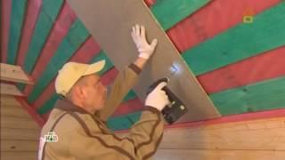 Утепление и звукоизоляция пола и стен второго этажа - плиты Quick Deck