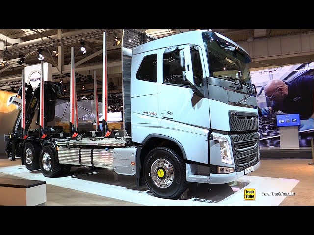 2019 Volvo FH 540 Timber Truck - Exterior and Interior Walkaround - 2019 IAA Hannover
