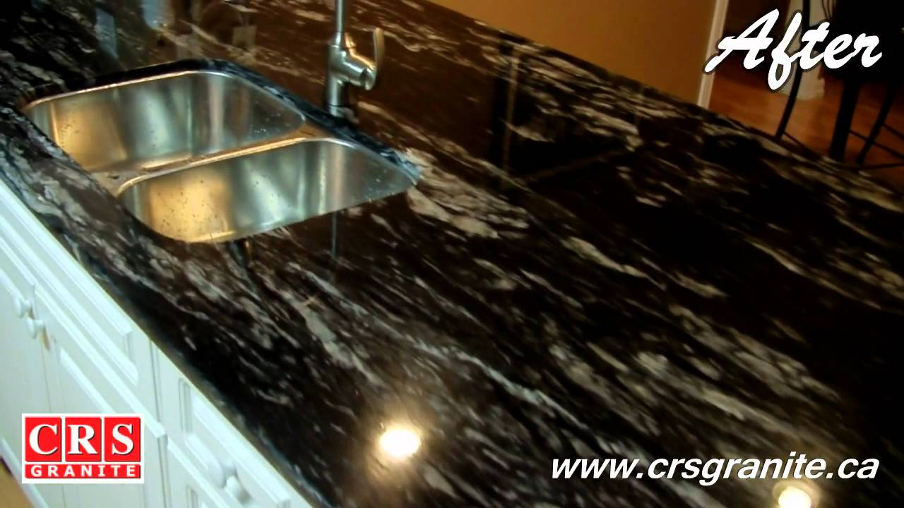 black kitchen countertops stainless steel sink with drainboard crs granite - before & after titanium 3/4 (2cm ...