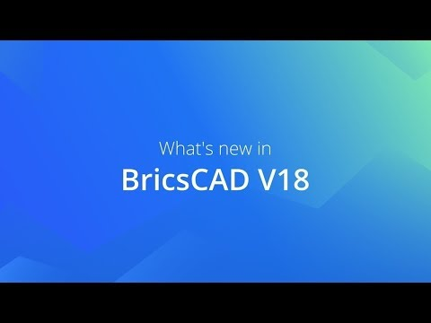 What's new in BricsCAD V18 Classic and Pro - YouTube