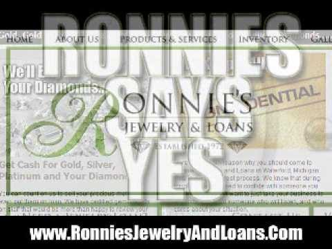 Pawn Your Gold Bullion At Ronnies Jewelry - Get a Cash Loan - Waterford, MICHIGAN