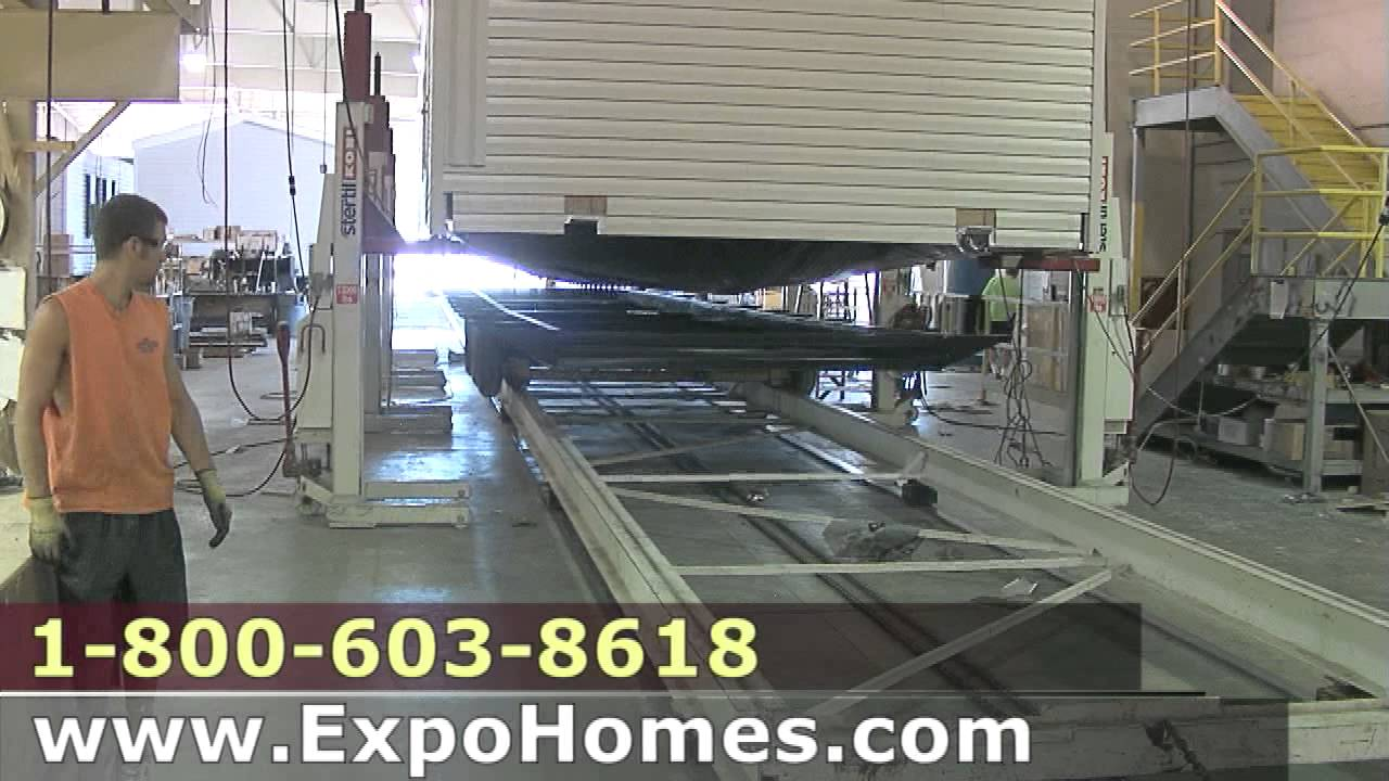 Fascinating Video Showing Process For Building Mobile Homes In Indiana