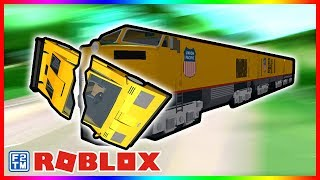 Roblox Jailbreak | What Happens to Different Vehicles 🚘 when they Hit the Train? 🚆