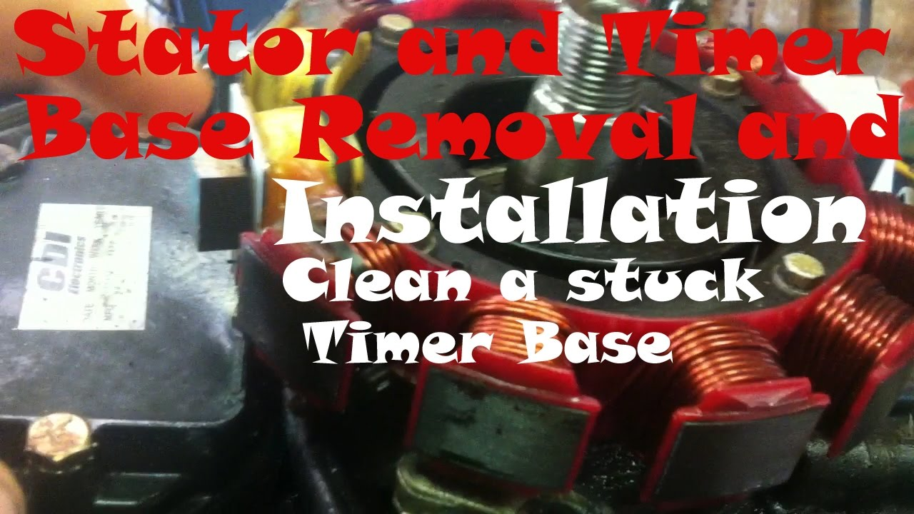 How To Repace An Outboard Stator And Timer Base Youtube 1971 Johnson 50 Hp Wiring Harness