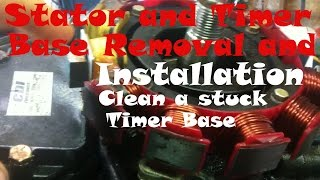 How to repace an outboard Stator and Timer Base(How to remove and install an outboard stator / timer base and how to clean or replace a stuck or sticking timer base. LINK TO BUY STATOR: ..., 2016-06-15T00:01:37.000Z)