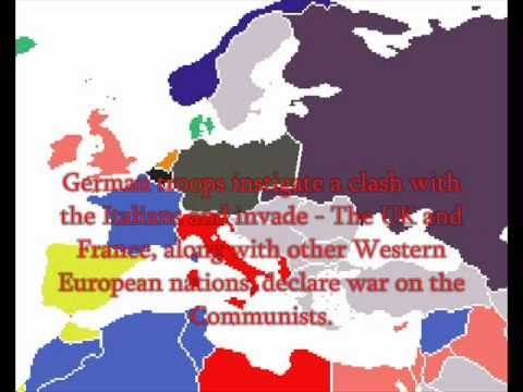 Alternate History Communist Germany And Alternate World War Two - Youtube germany map