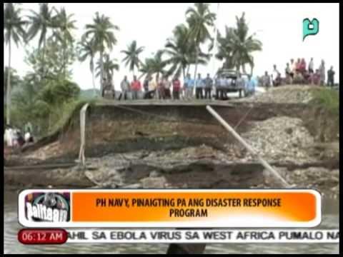 Balitaan: PHL Navy, pinaigting pa ang 'disaster response program' [06/19/14]