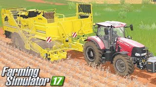 Kombajn do ziemniaków - Farming Simulator 17 [PLATINUM] | #29