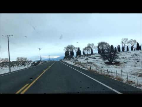 Drive to Baker City from North Powder, Oregon: Highway 30 southeast