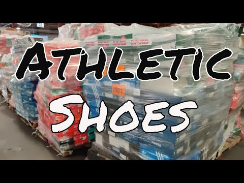 Assorted Shelf-Pull Athletic Shoe Lots