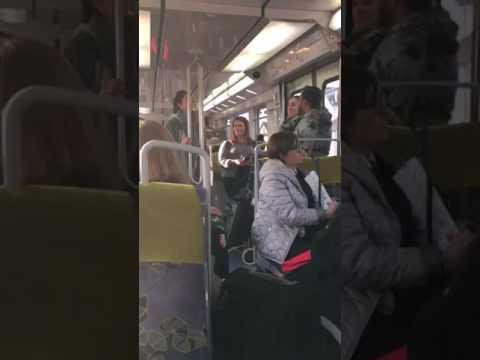 Europe karaoke on Tram JDMWL