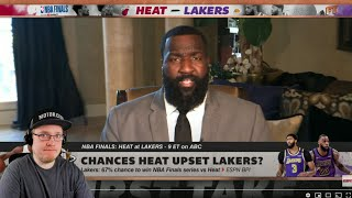 Reacting To First Take's NBA Finals predictions: Lakers vs. Heat