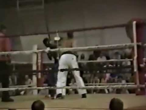 "Kevin ""Hurricane"" Hudson vs.  Larry Bethea , Forest City, NC 1991"