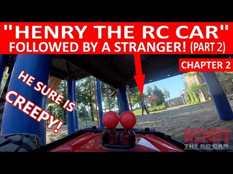 """KIDS AND STRANGER FOLLOWING """"HENRY THE RC CAR""""! (CHAPTER 2 """"PART 2"""")"""