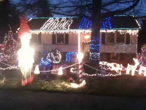 Collegeville pa Christmas lights - YouTube