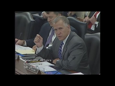 Sen. Tillis Suggests Solutions to Current Issues with the VA